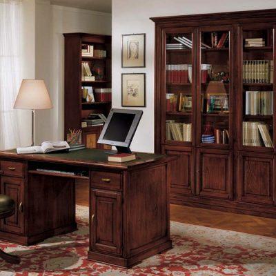 Scrivania Libreria Per Computer.Studi E Scrivanie Df Mobili Classici