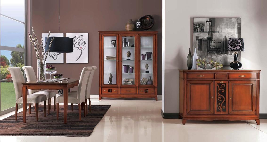 Credenza Sala Da Pranzo Moderna : Sala con inserto u df mobili classici
