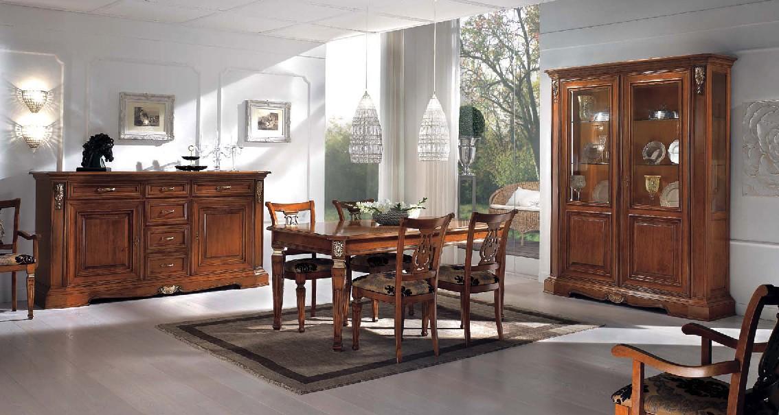 Sala con inserti df mobili classici - Mobili sala da pranzo ...