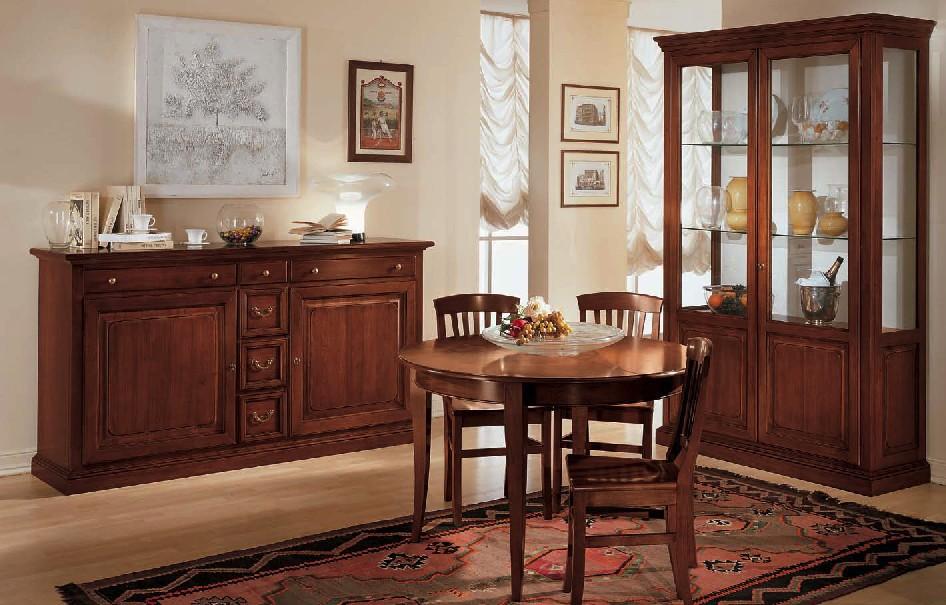 Sala con anta a telaio df mobili classici - Mobili per sala classici ...