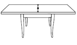 Tavolo Quadrato A Libro.Tavolo Quadrato A Libro Toulipier Varie Misure Df Mobili Classici
