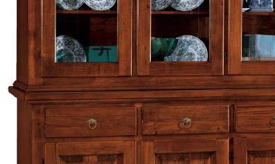 Credenza Cristalliera Arte Povera : Coloniale credenza ante con cassetti v