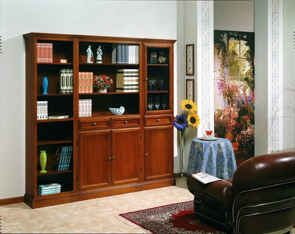 Cucine componibili arte povera elegant parete soggiorno for Mobili salone classici