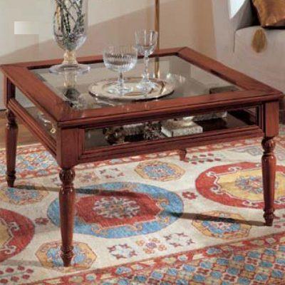 Tavolini Da Salotto Classici Quadrati.Tavolini Da Salotto Df Mobili Classici