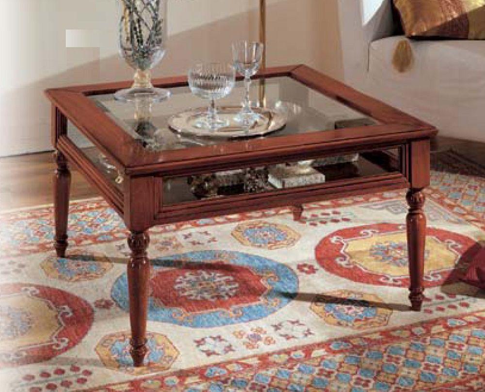 Tavolino Da Salotto Quadrato Classico.Tavolino Da Salotto A Bacheca