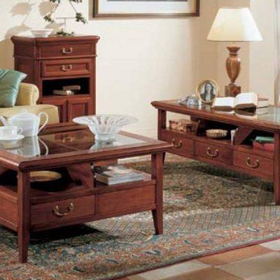 Tavolino Da Salotto Quadrato Classico.Tavolini Da Salotto Df Mobili Classici