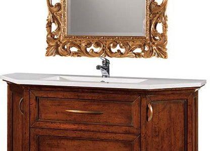 Mobile bagno specchio con cornice oro df mobili classici - Specchio cornice oro ...