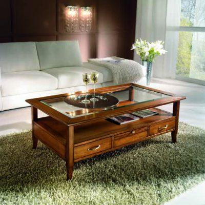 Tavolini Bassi Da Salotto Classici.Tavolini Da Salotto Df Mobili Classici